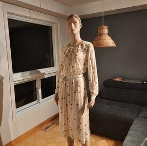 VINTAGE PARIS DEVERNOIS  SIZE 14 DRESS